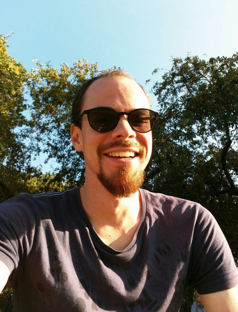 TSO mit Sonnenbrille